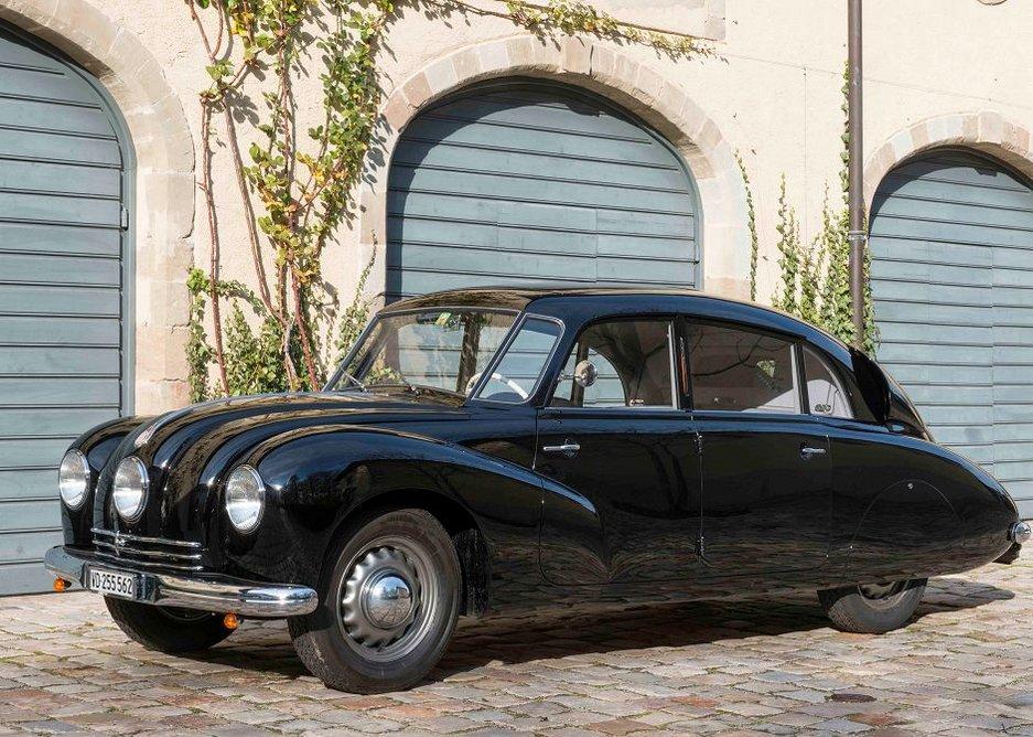 Norman Foster's 1948 Tatra T87, a real head-turner.