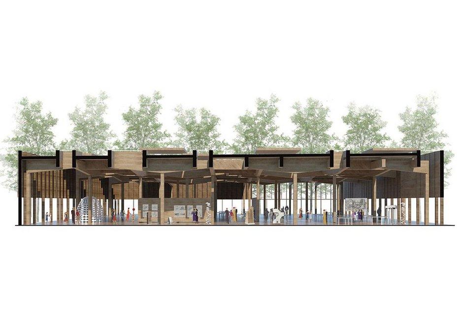 Proposal by Grafton Architects.