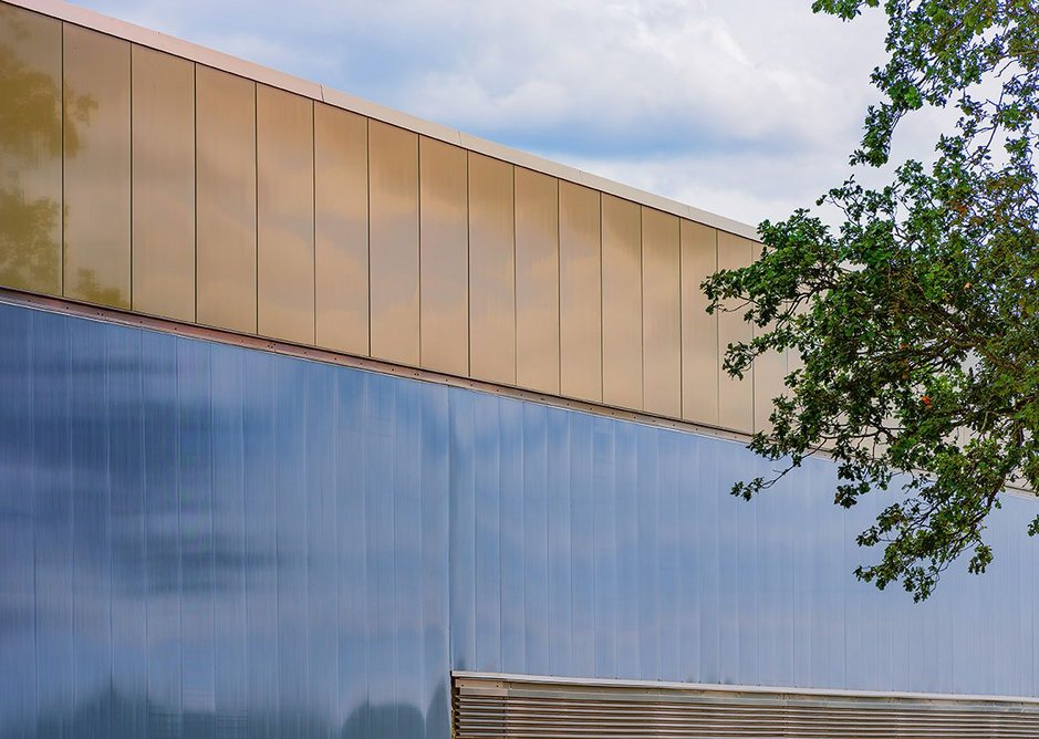 Rainscreen panels are fixed back to the main structure using the SFS Nvelope NV7 system.