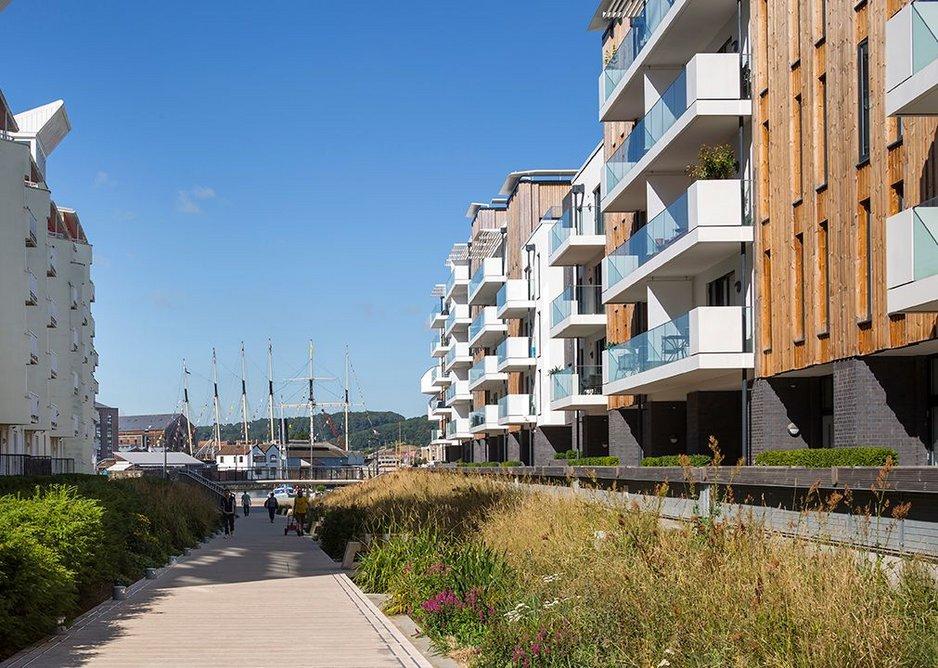 Bristol Harbourside building.