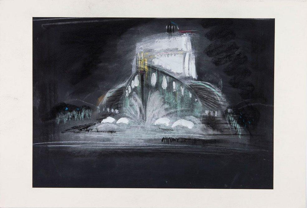 René-André Coulon, Jeux d'eau et de Lumiere, 1937.