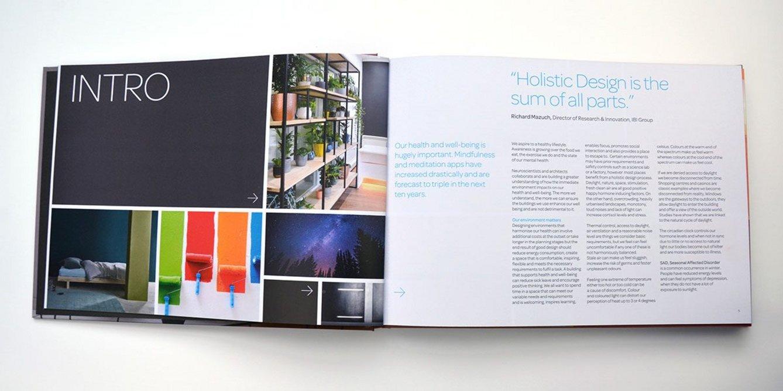 Interior Colour Book: 'Holistic Design is the sum of all parts.'