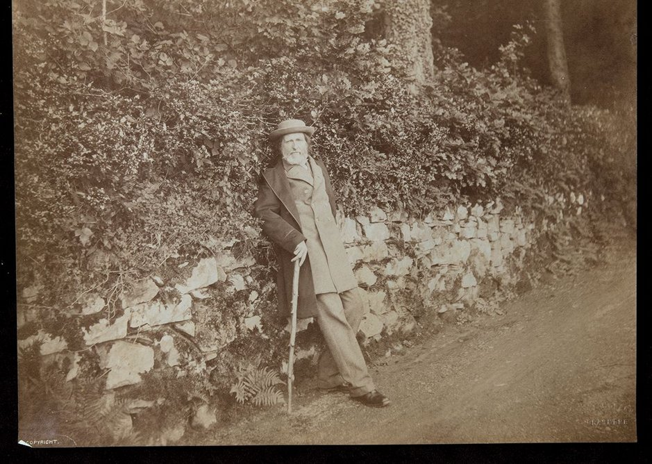 John Ruskin 1880s, T.A. & J. Green © Collection of the Guild of St George / Museums Sheffield
