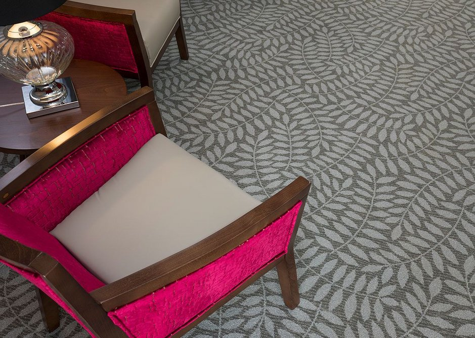 Forest 173 Evolution carpet at Country Court Care's Lakeview Lodge care home, Bletchley.