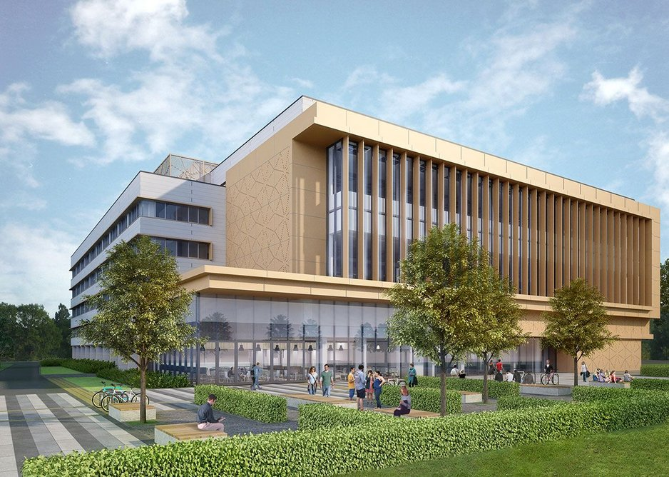 This library refurbishment is Stride Treglown's 20th project in the last 10 years for The University of Reading, a mutually beneficial relationship.