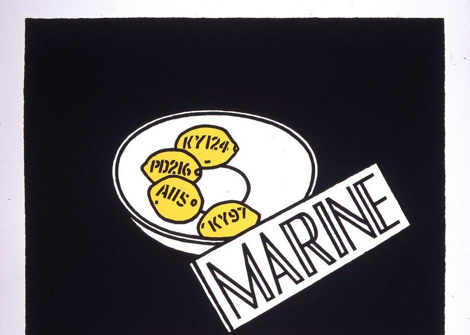 Marine, 1968.