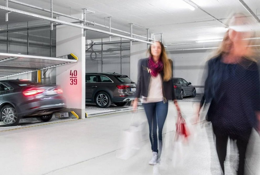 Mechanical and automated parking systems offer drivers peace of mind, convenience and luxury.