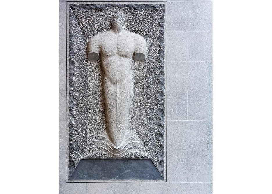 elief: Emerging Figure to EL, Stephen Cox' Indian dolorite reference to Edwin Lutyens' work on New Delhi, drawn up on this site