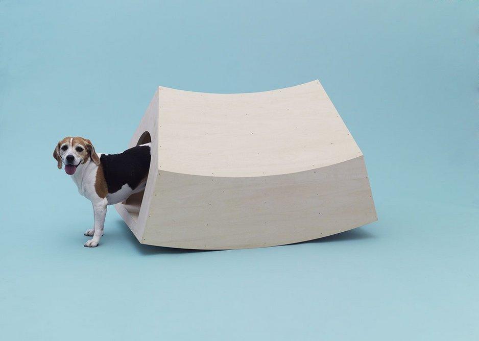 Beagle House Interactive Dog House by MVRDV for Beagle.
