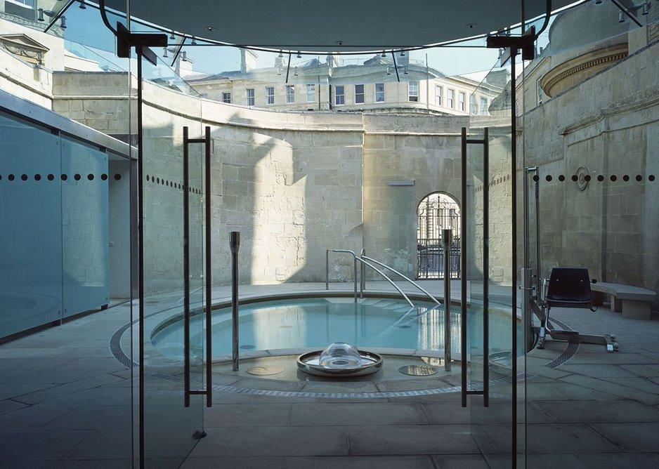 Cross Bath, Bath. Edmund Sumner