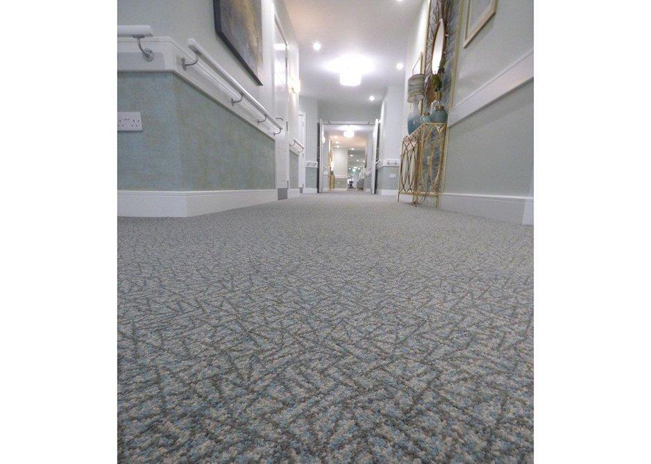 Danfloor's Glaze 361 Evolution range carpet at MHA Montpellier Manor.