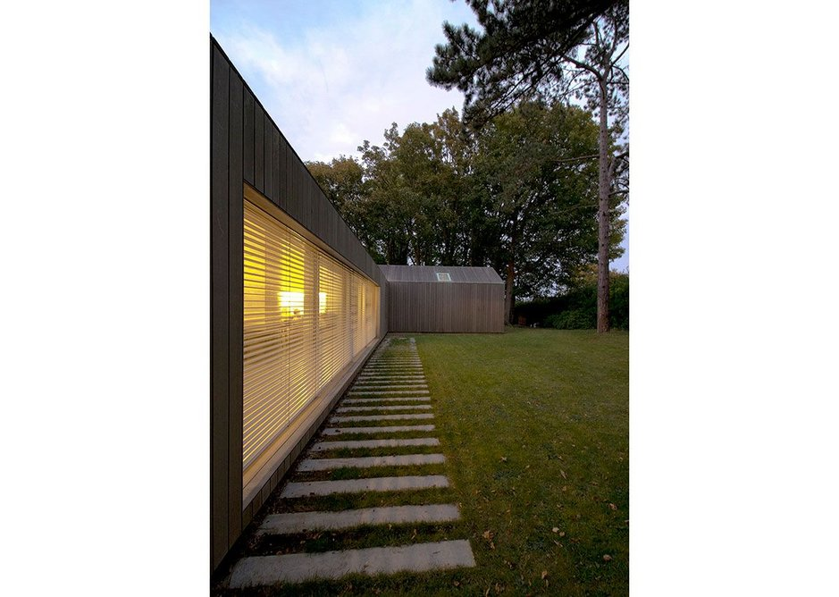 Hill House Passivhaus, Lewes, Sussex.