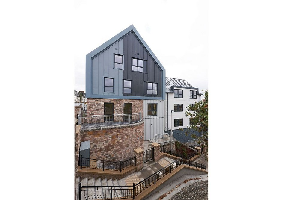 The Raining's Stairs Development, Inverness.