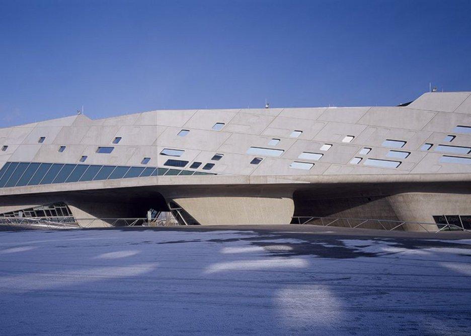 Phaeno Science Centre, Wolfsburg, Germany.