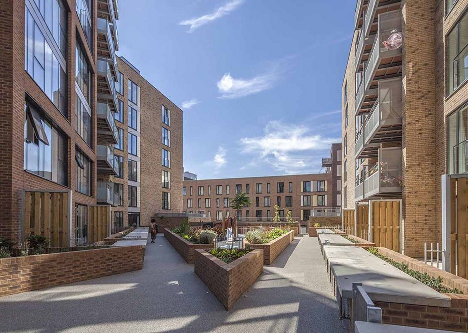 VOLUME HOUSEBUILDING AWARD: Taylor Wimpey, east London for City Mills (pictured), Praecedo and The Quarters