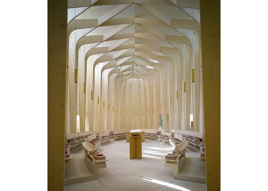 Primitive strength, delicacy and content: Bishop Edward King Chapel, Oxfordshire.