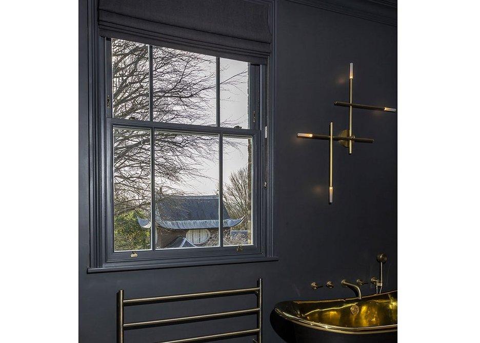 Lomax + Wood high performance, made-to-order timber box cords and weights sash windows, Blackheath, London.