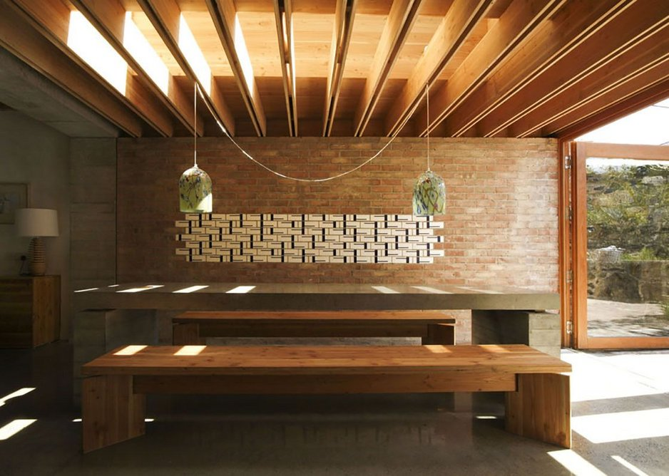 TAKA, House 2, Ritual Dining Space, Dublin, Ireland, 2009. Photo © Alice Clancy, TAKA Architects.
