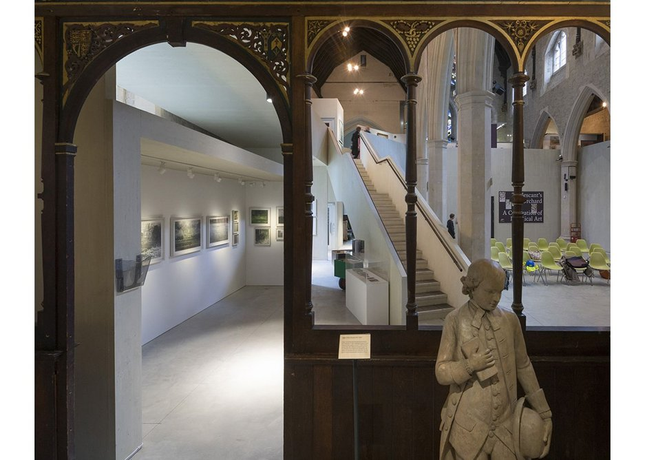 Finding homes for objects of both the museum and the church was an important part of Dow Jones' role.