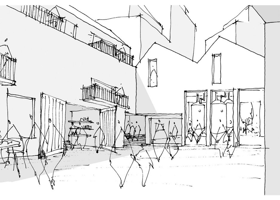 Bid submission for new  London neighbourhood.