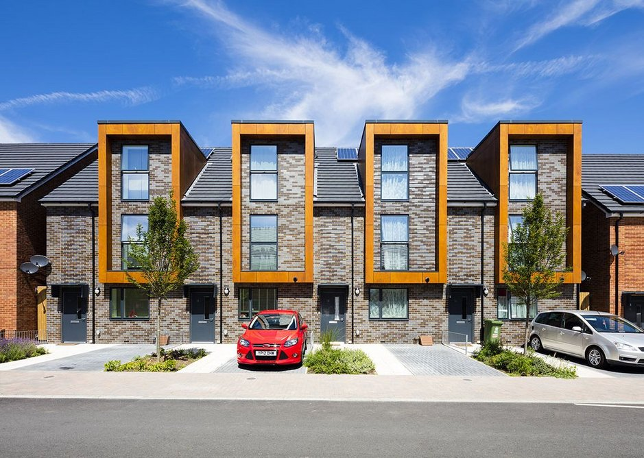 The low U-values of standard Velfac glazing helped Erith Park achieve Code for Sustainable Homes Level 4.