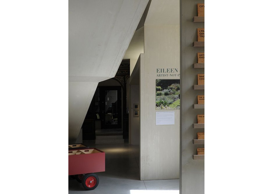 Apparently 'odd' spaces offer different opportunities for curation. Here short stay 'magazine' exhibitions live.