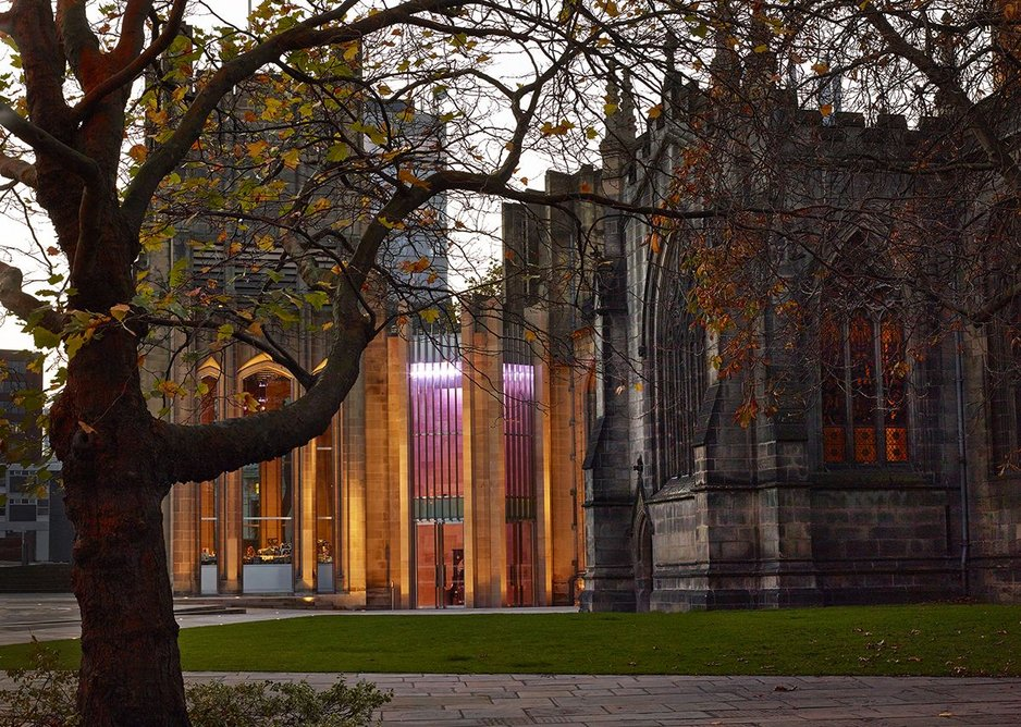 Sheffield Cathedral by Thomas Ford & Partners.