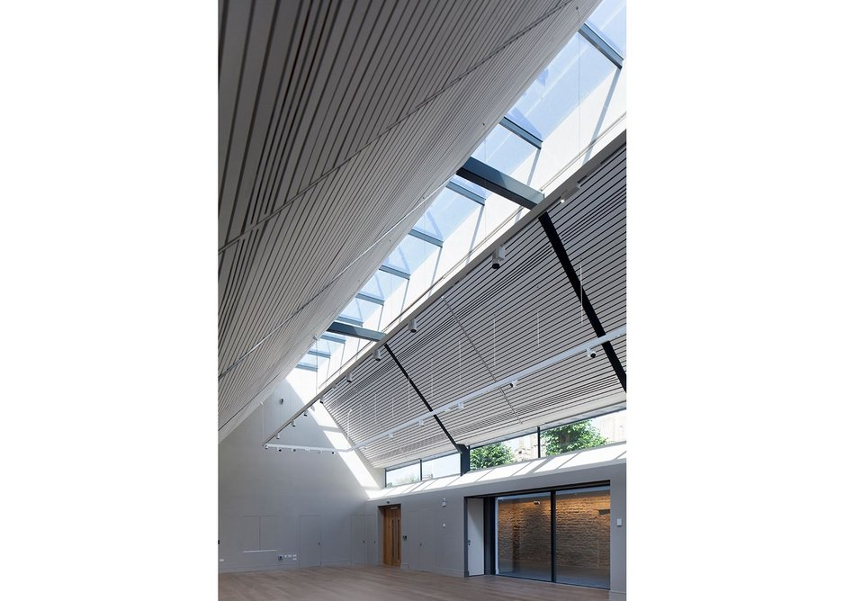 Warwick Hall Community Centre by Acanthus Clews Architects.