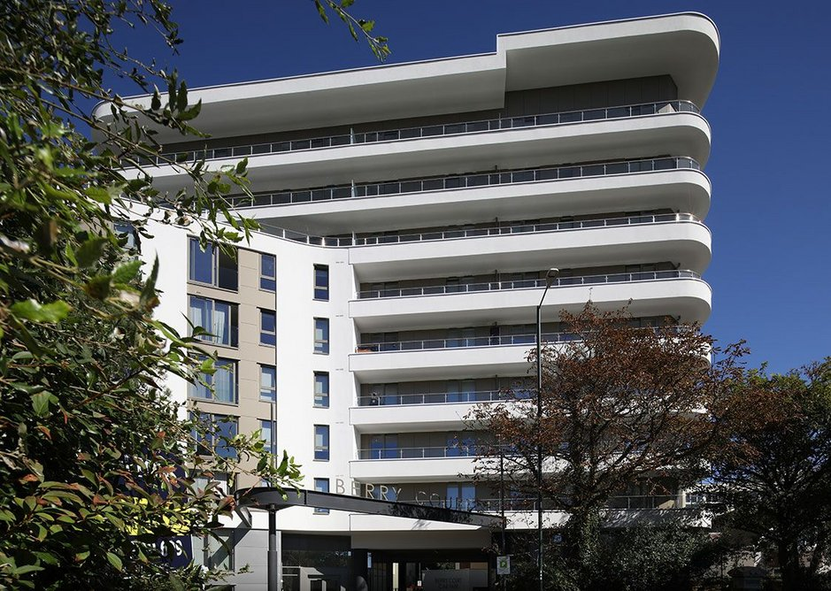 Berry Court offers a diverse range of rented accommodation in a central Bournemouth location with views over the town and out to sea.
