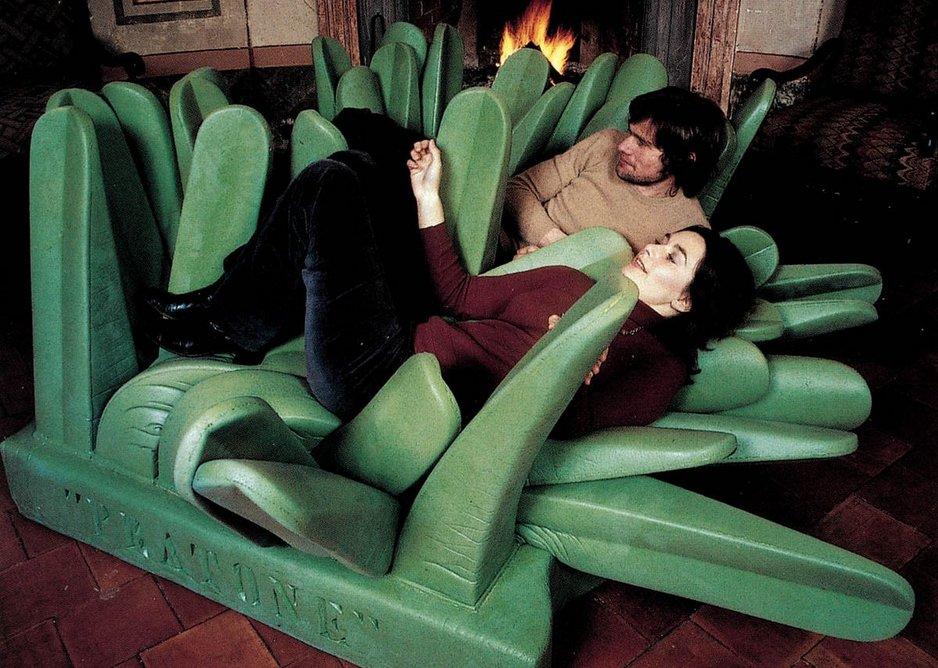 PRATONE lounge chair by Ceretti, Derossi, Rosso