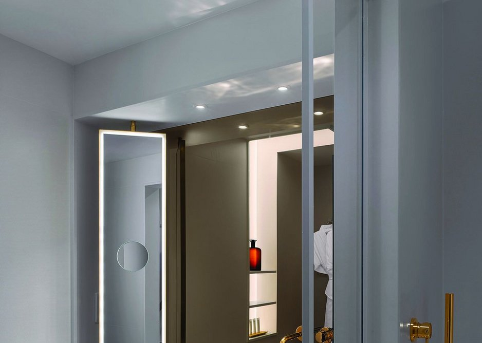 Laufen's ultra thin porcelain Saphir Keranick sinks embody luxurious minimalism.