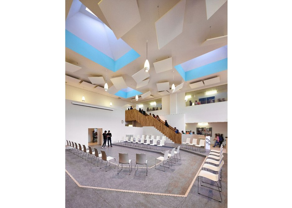 James Gillespie's Campus collaboration and learning space, jmarchitects.