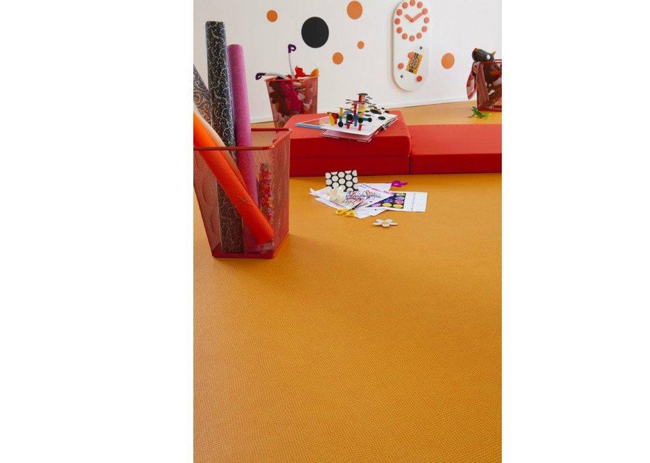 Taralay Initial Diversion Orange adds colour.