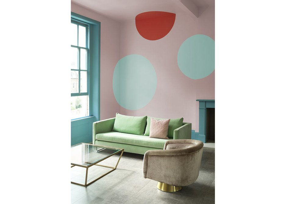 Crown Paints' Free Spirit colour collection evokes faded 1980s Miami glamour.