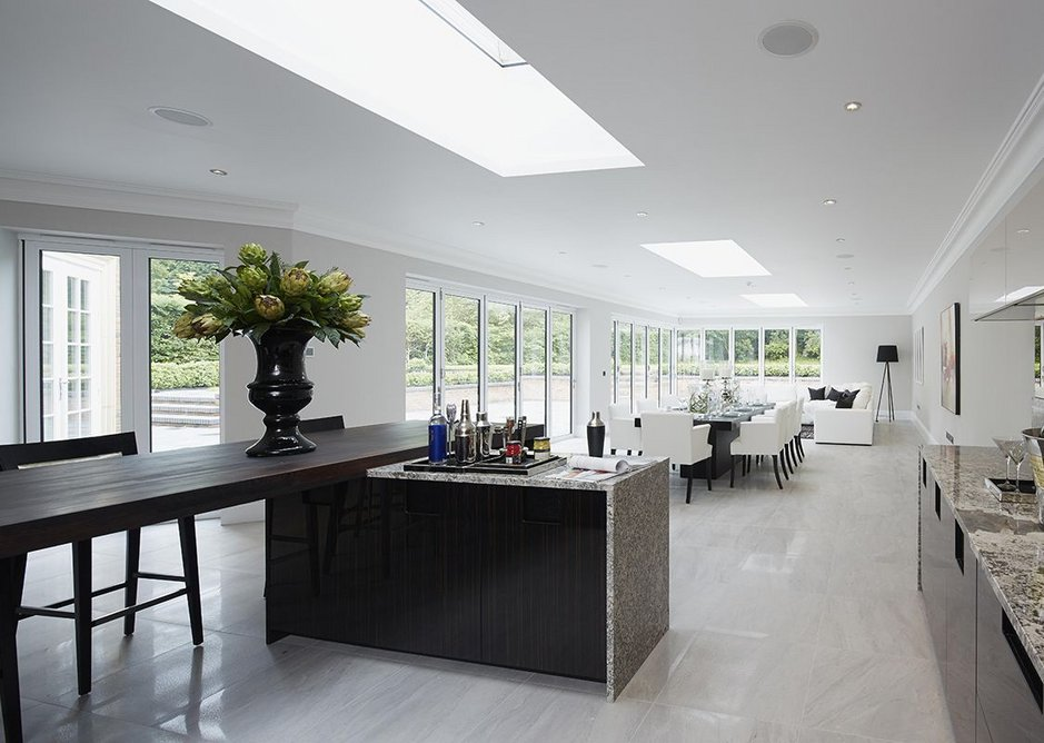 Interior view of a project in Beaconsfield