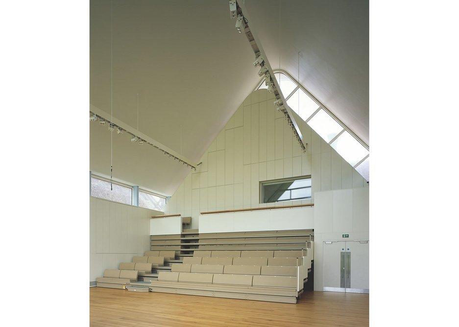 Brighton College Music School, Eric Parry Architects.