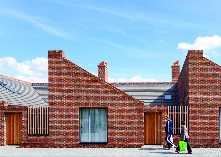 Barking courtyard housing by Patel Taylor