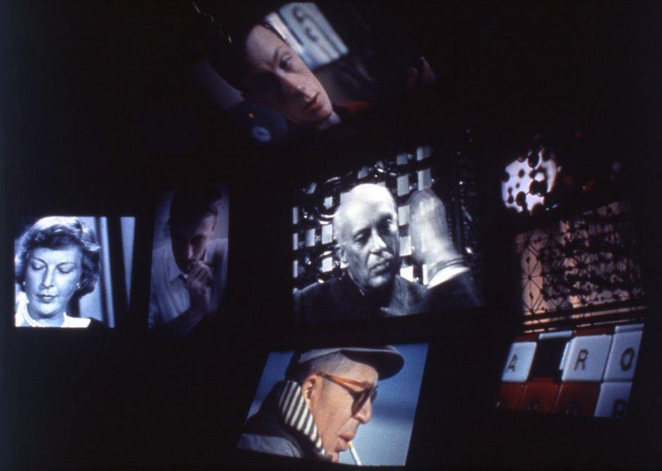 Still of Think, I.B.M Pavilion, New York World's Fair, 1964.