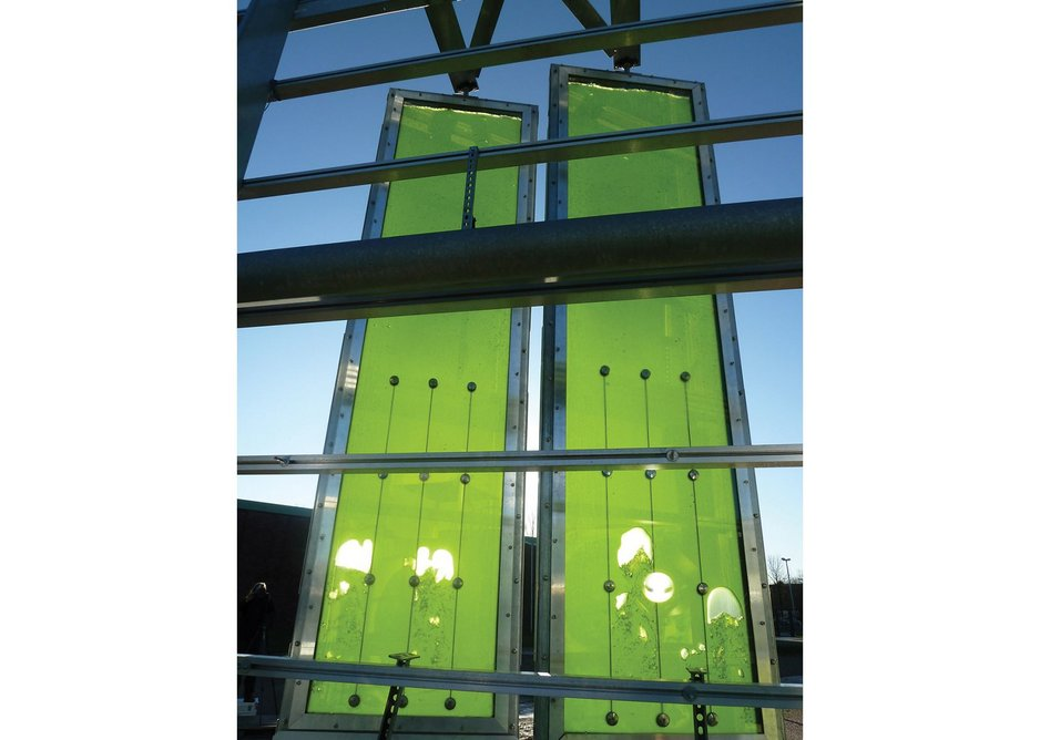 Arup continues to innovate, as seen in SolarLeaf, its_bio-reactive algae facade