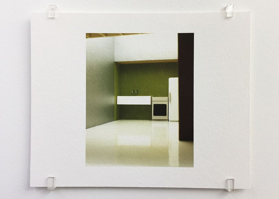 Caruso St John, Parasite, study for an exhibition (2000), 2017, photograph, 16.8 x 21 cm, edition of 7.