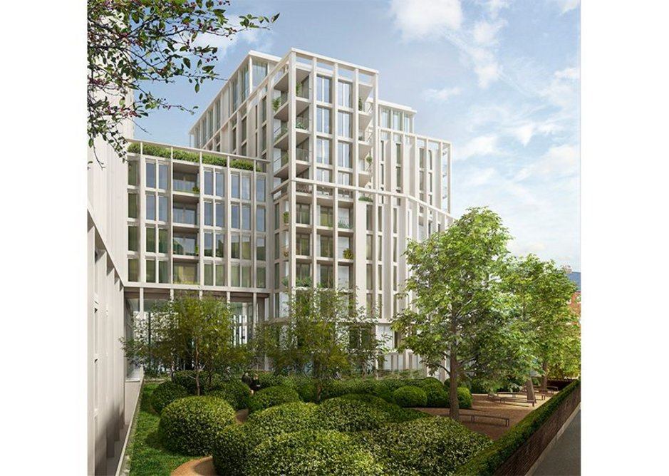 Working on the large scale: the Abell & Cleland housing scheme in Westminster for Berkeley Homes.