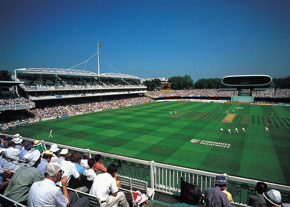 1998: Lord's Grand Stand, London, UK.