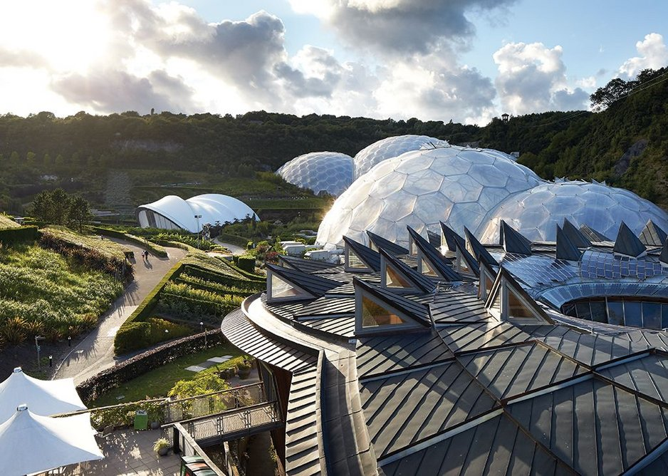 2001: The Eden Project Phases 1, 2 & 3, Cornwall, UK.
