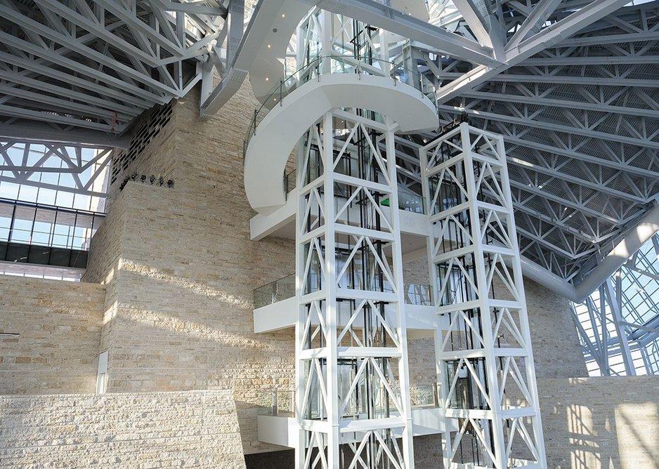 Limestone meets steel as the engineering is celebrated.