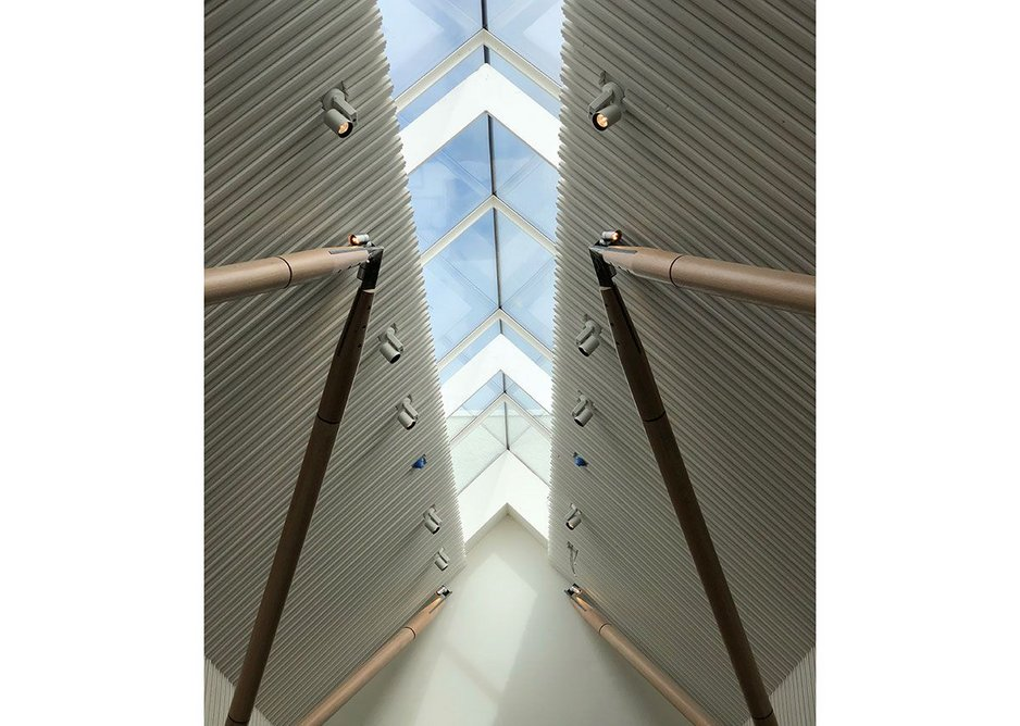 The Ridgeglaze rooflight is designed to be installed over the apex of a pitched roof, allowing glazing on both returns.