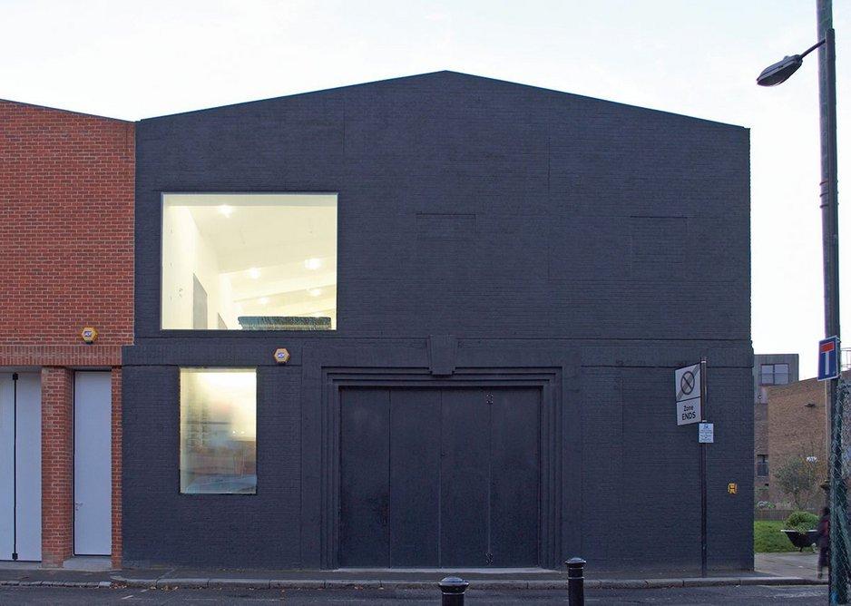 Kapoor's studio: paint it – black.