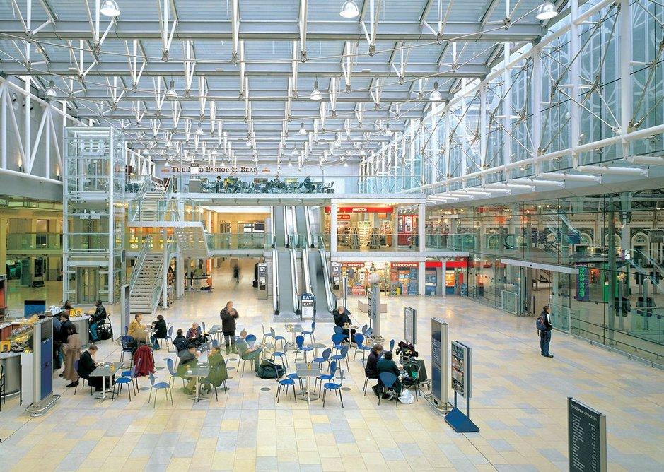 1999: Paddington Station Phase 1, London, UK.