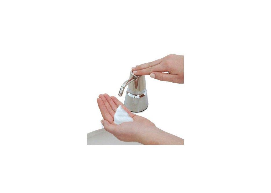 Soap dispenser from Bobrick.