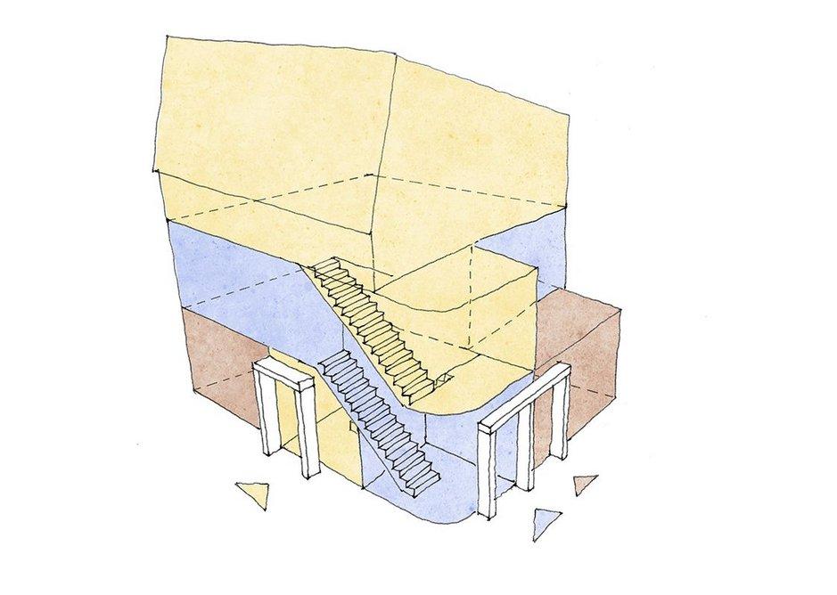 Typical flat block