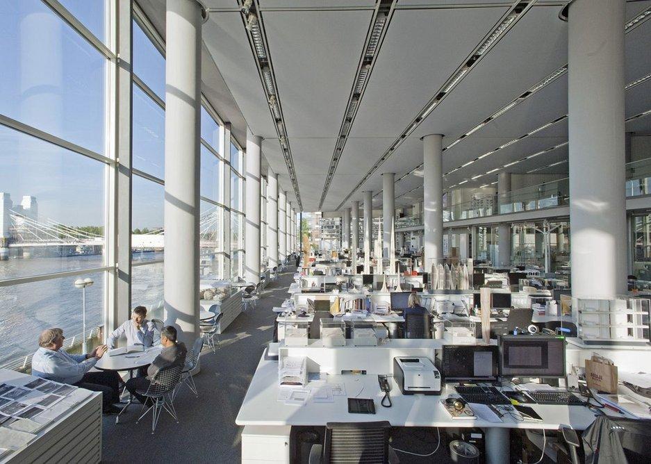 rchitecture's creative factory: Foster + Partners' Studio.